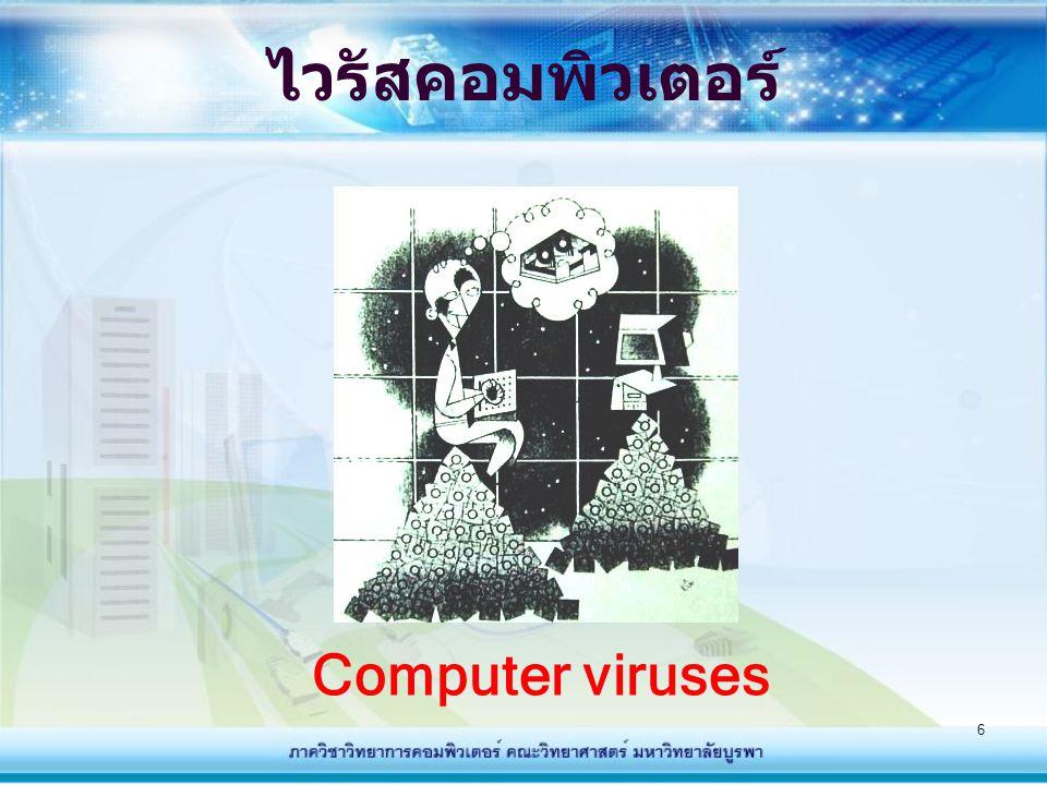 ไวรัสคอมพิวเตอร์ Computer viruses