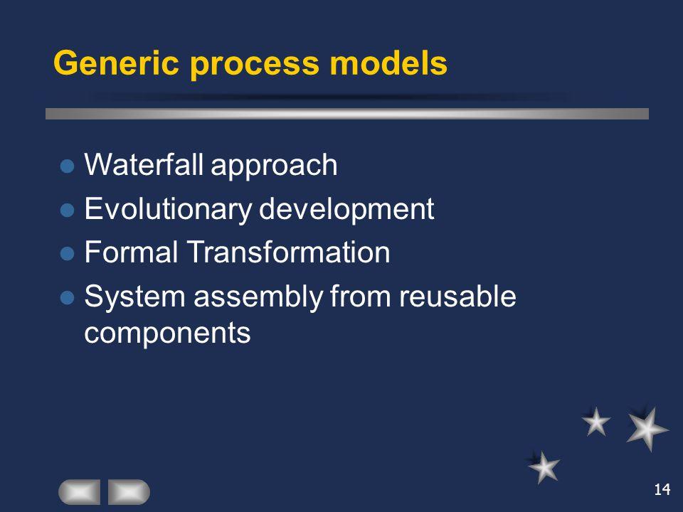 Generic process models