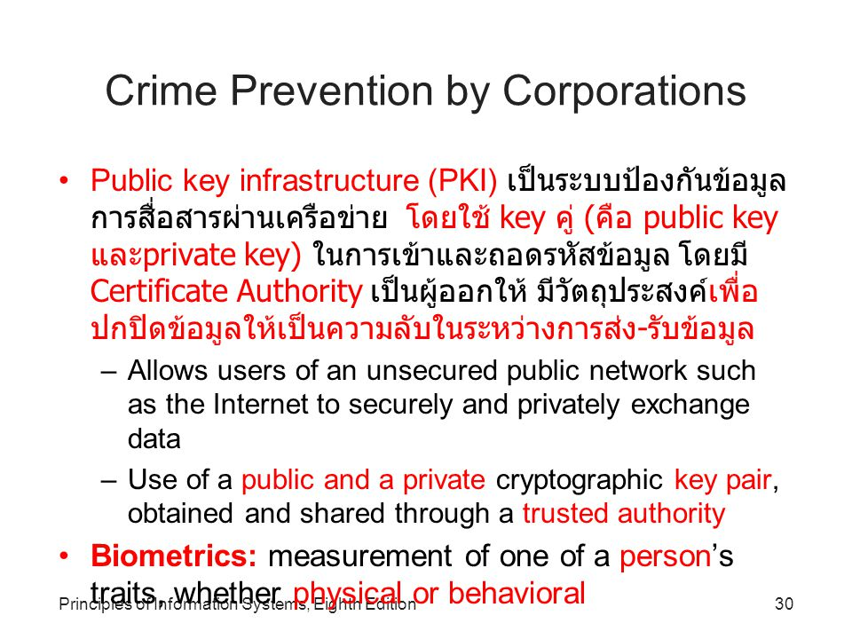 Crime Prevention by Corporations