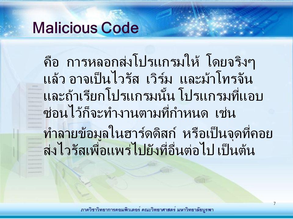 Malicious Code
