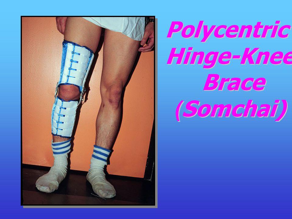 Polycentric Hinge-Knee Brace (Somchai)