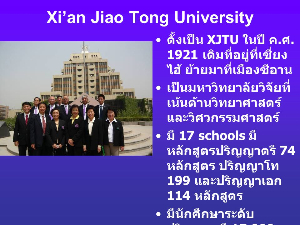 Xi'an Jiao Tong University