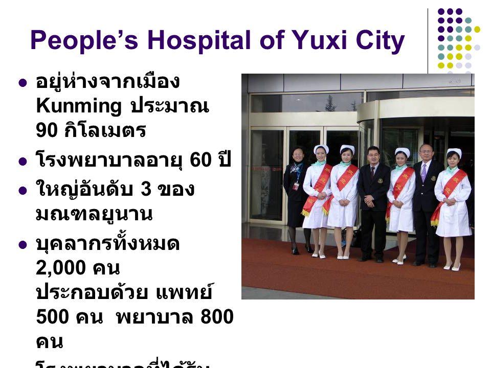 People's Hospital of Yuxi City