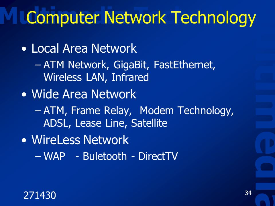 Computer Network Technology