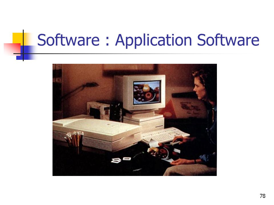 Software : Application Software