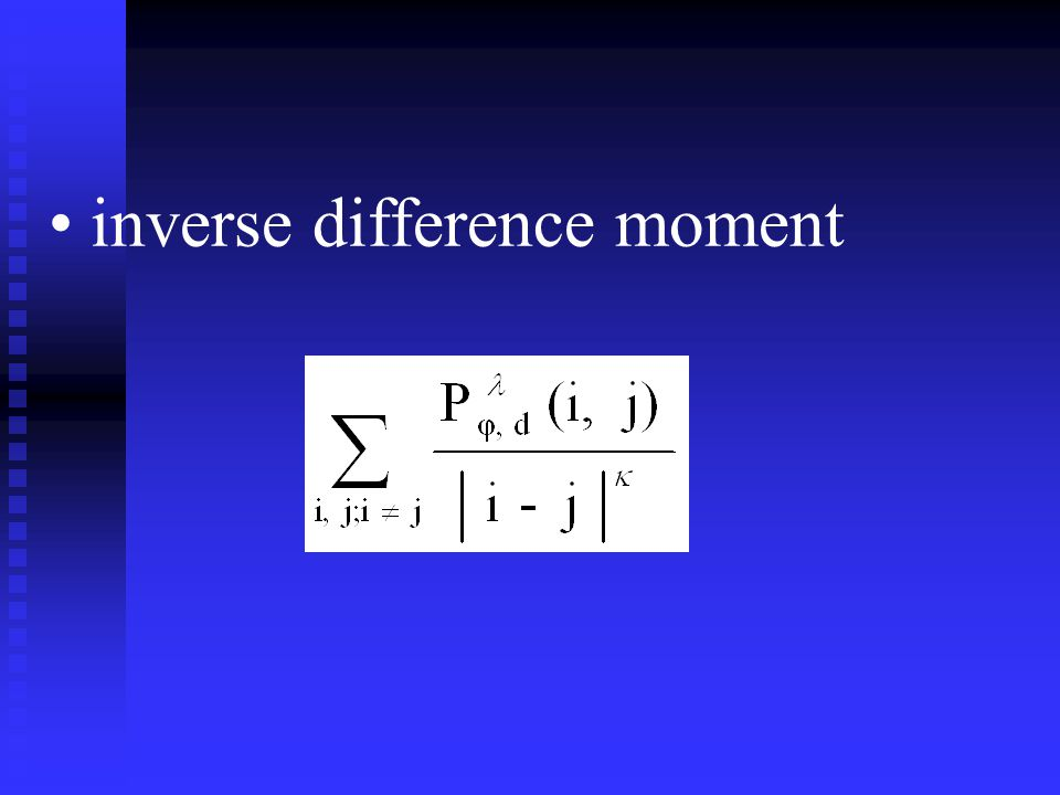 inverse difference moment