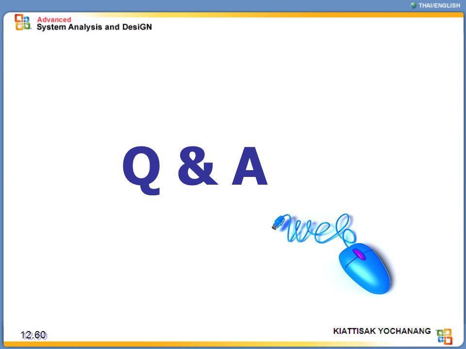Q & A 12.60