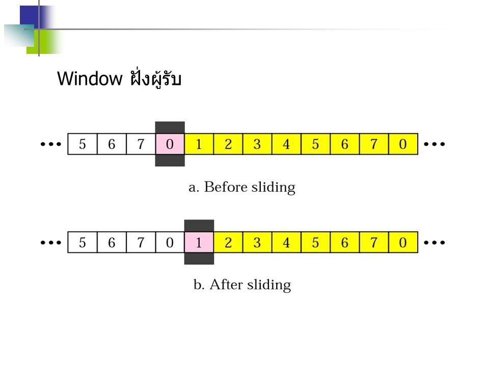 Window ฝั่งผู้รับ