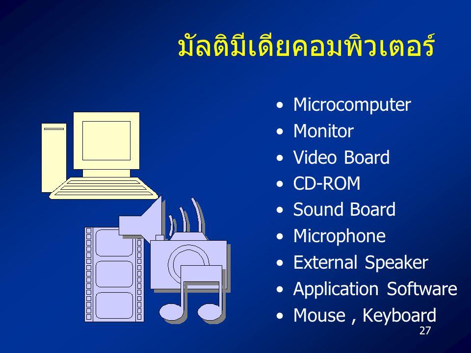 มัลติมีเดียคอมพิวเตอร์