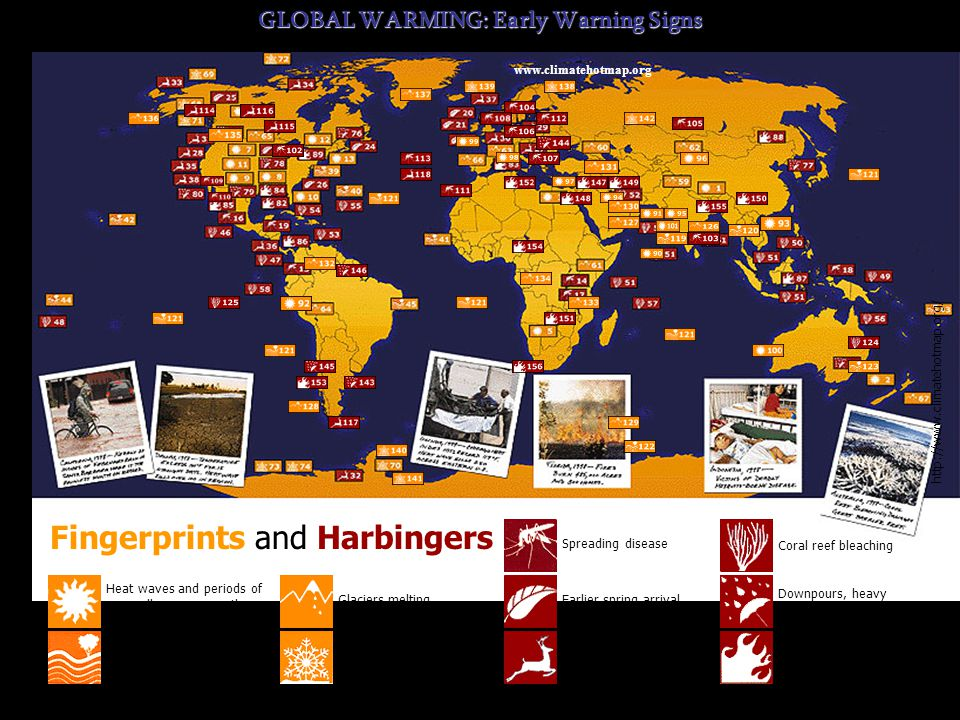 GLOBAL WARMING: Early Warning Signs