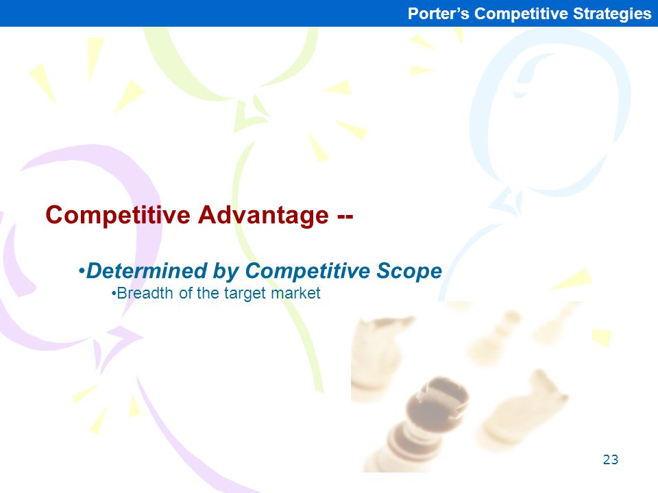 Competitive Advantage --
