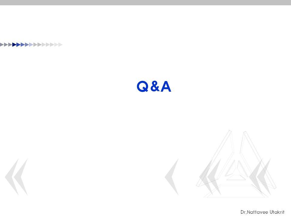Q&A Dr.Nattavee Utakrit