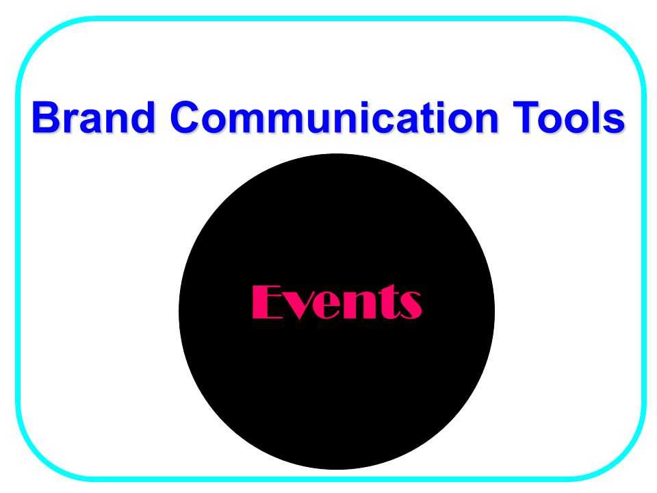 Brand Communication Tools