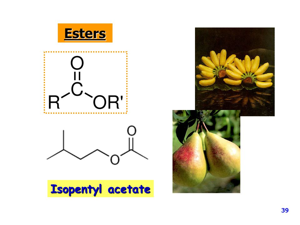 Esters Isopentyl acetate 39