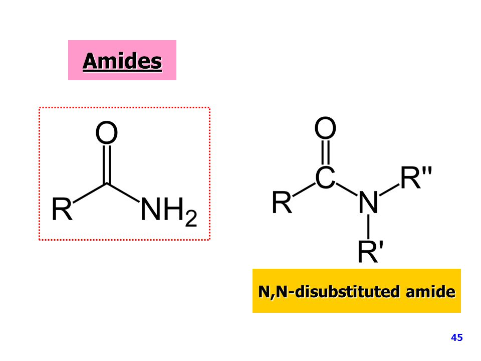 N,N-disubstituted amide