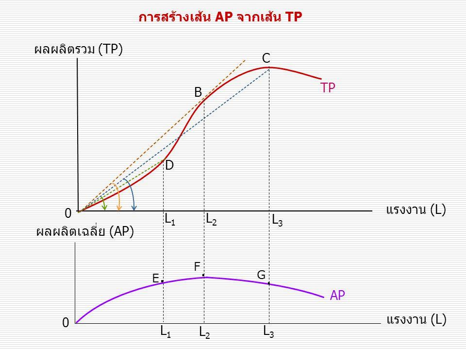 การสร้างเส้น AP จากเส้น TP