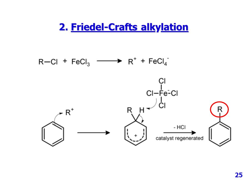 2. Friedel-Crafts alkylation