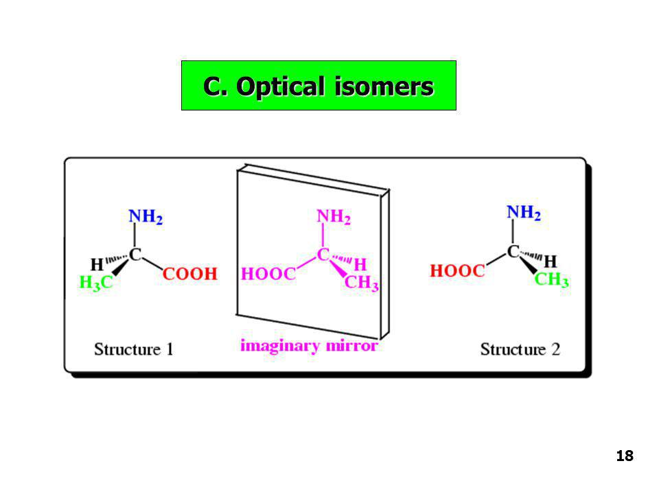 C. Optical isomers 18