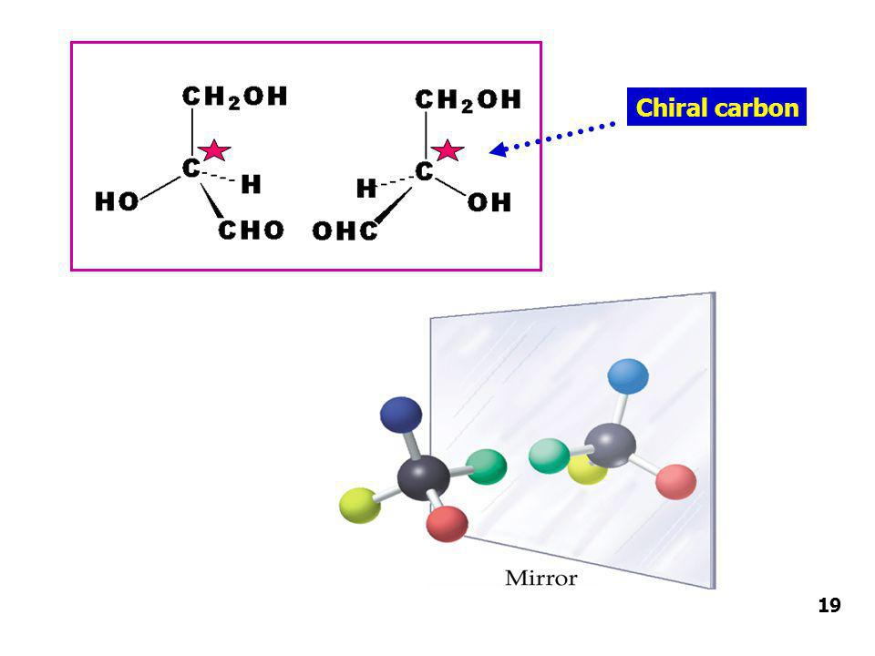 Chiral carbon 19