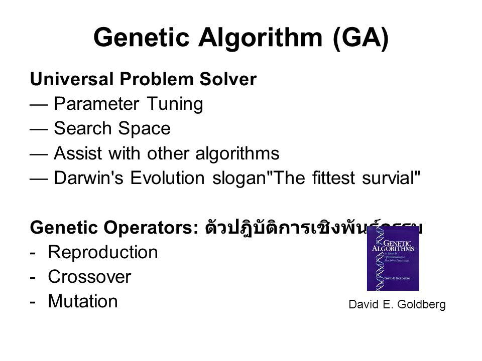Genetic Algorithm (GA)