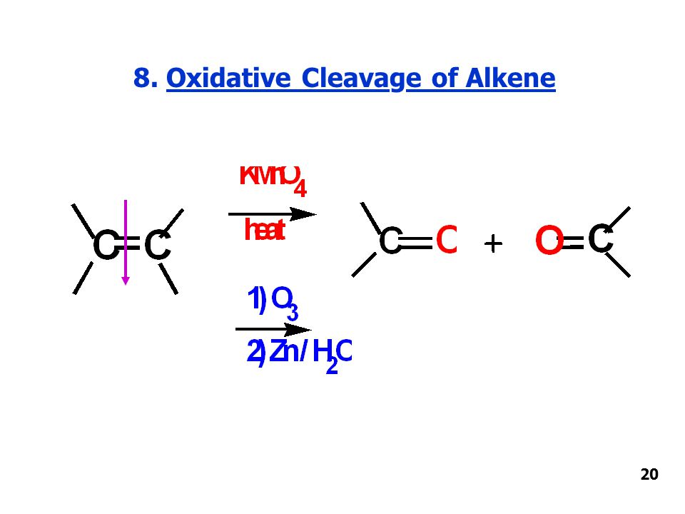 8. Oxidative Cleavage of Alkene