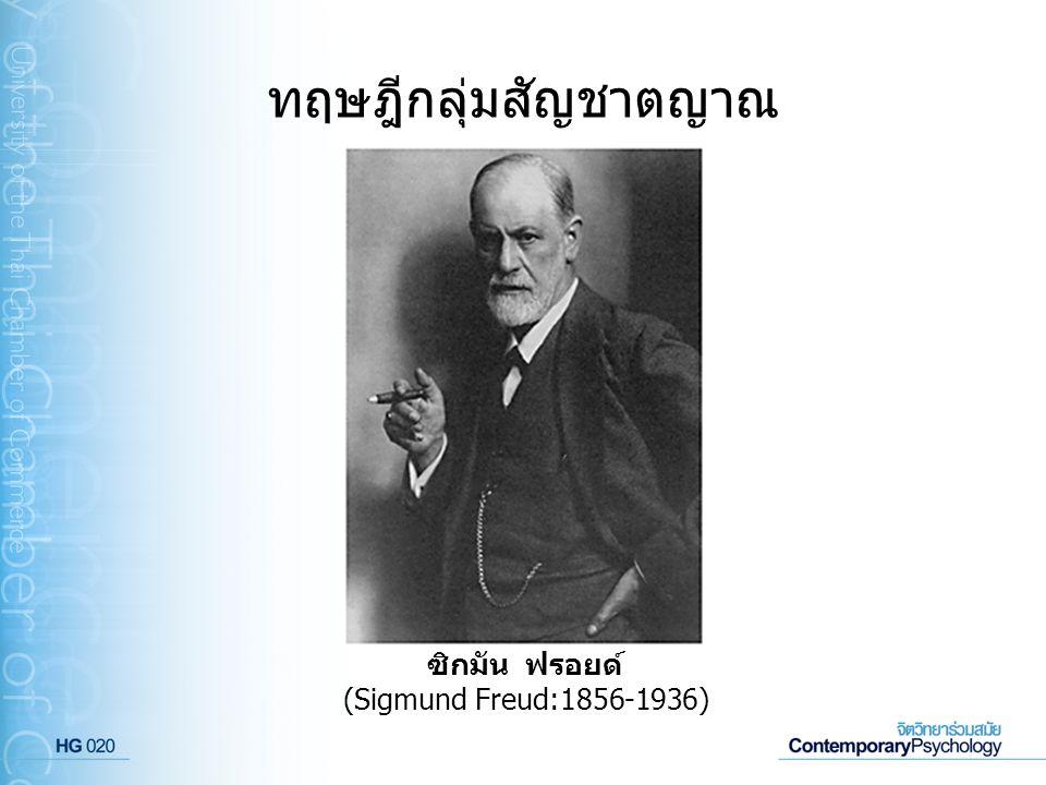 ซิกมัน ฟรอยด์ (Sigmund Freud:1856-1936)