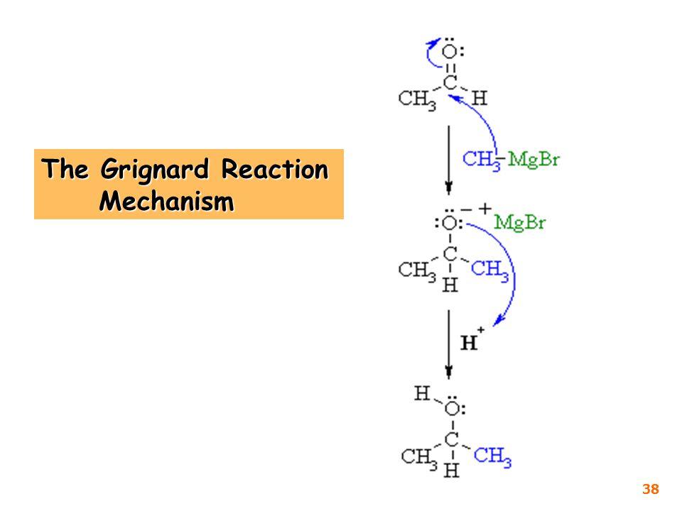 The Grignard Reaction Mechanism 38