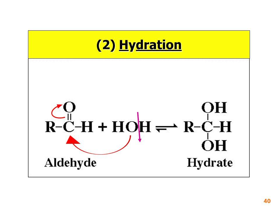 (2) Hydration 40
