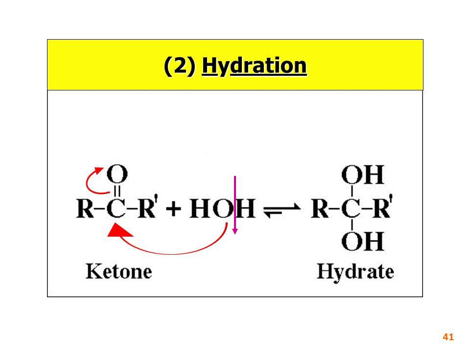 (2) Hydration 41