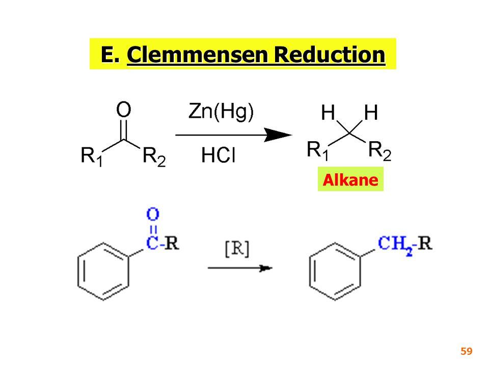 E. Clemmensen Reduction