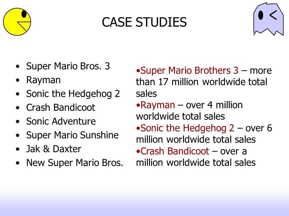 CASE STUDIES Super Mario Bros. 3 Rayman