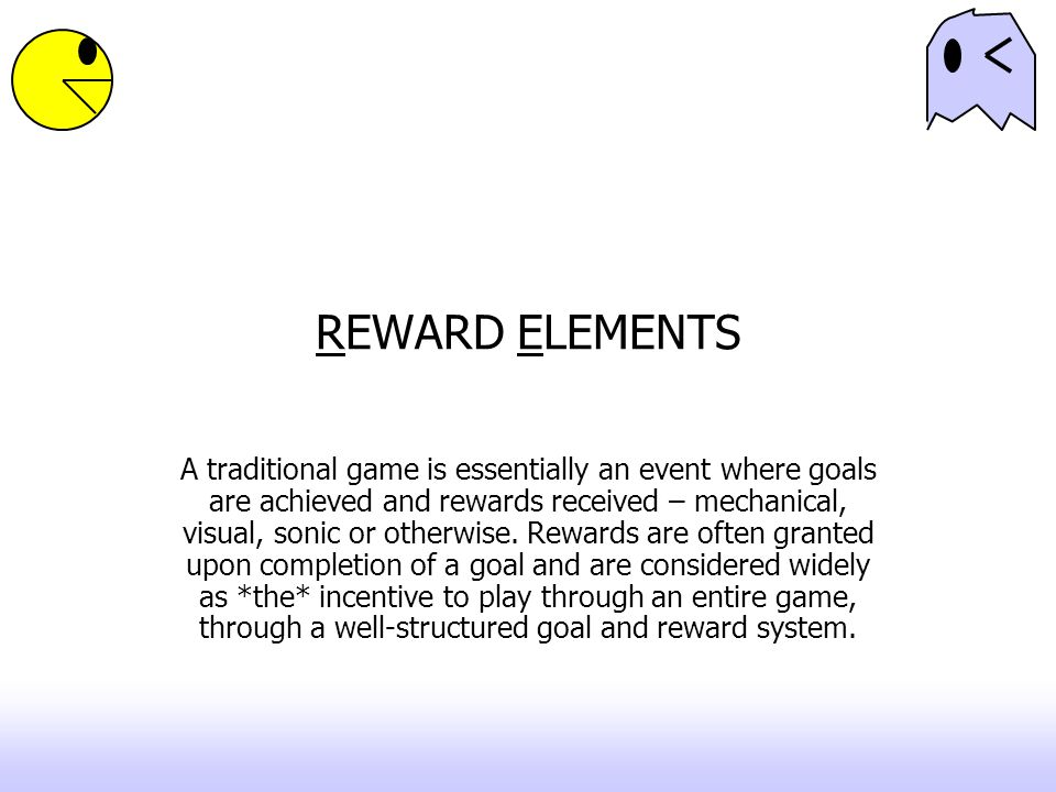 REWARD ELEMENTS