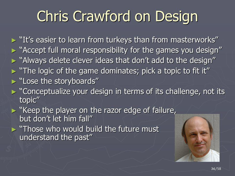 Chris Crawford on Design