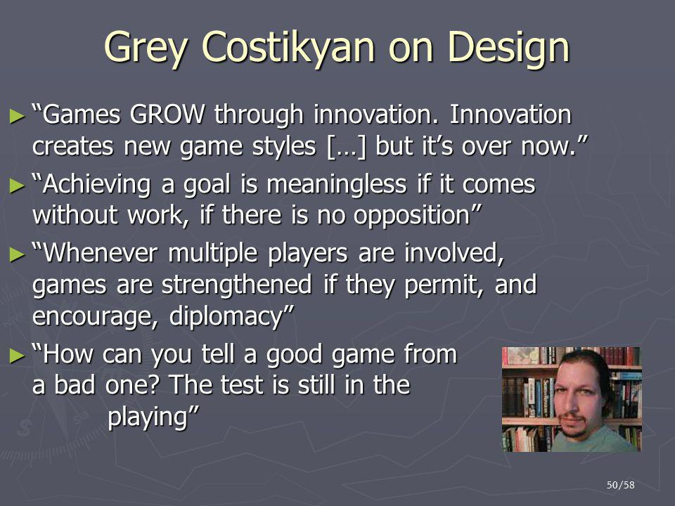 Grey Costikyan on Design