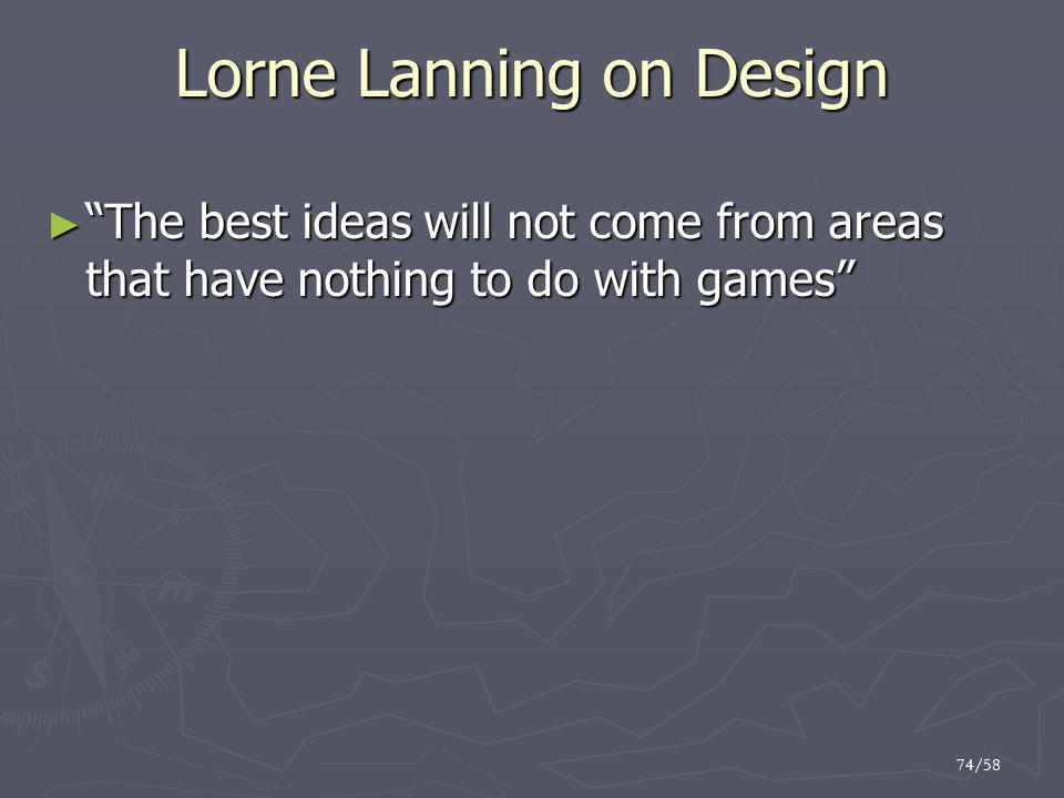 Lorne Lanning on Design