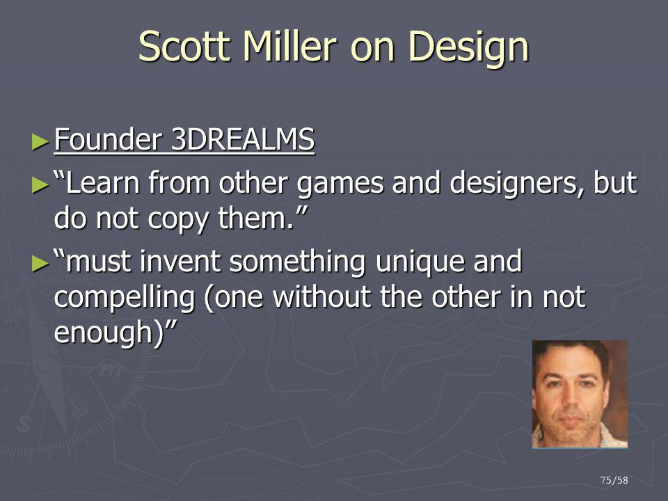 Scott Miller on Design Founder 3DREALMS