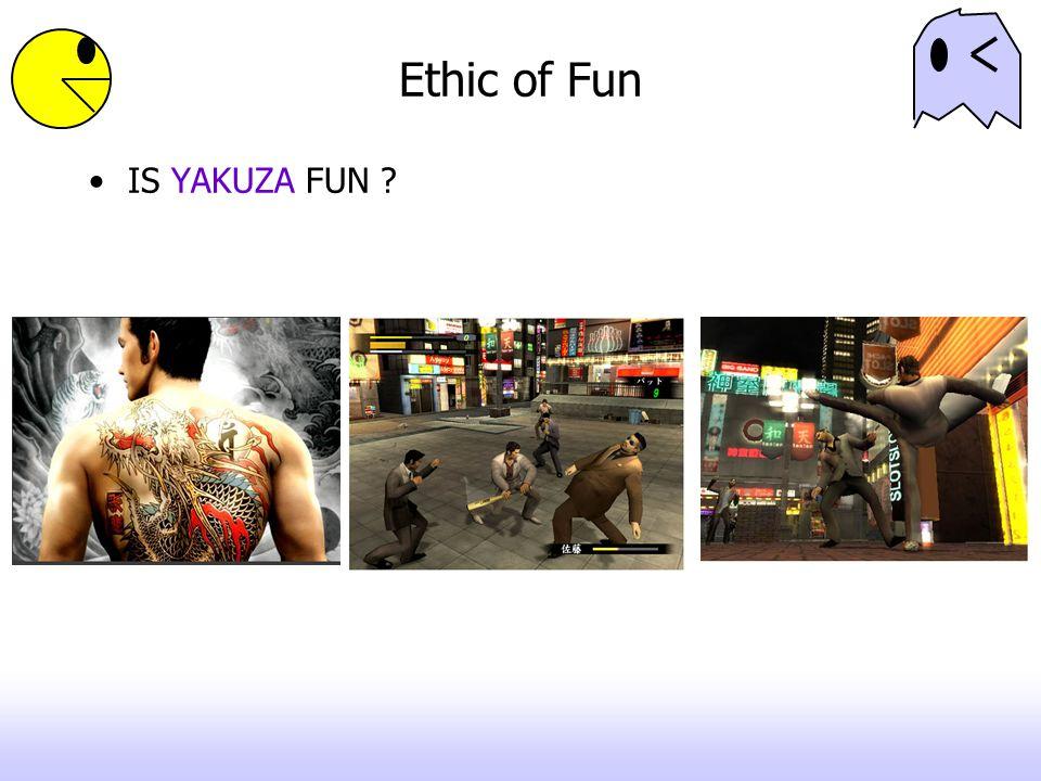 Ethic of Fun IS YAKUZA FUN