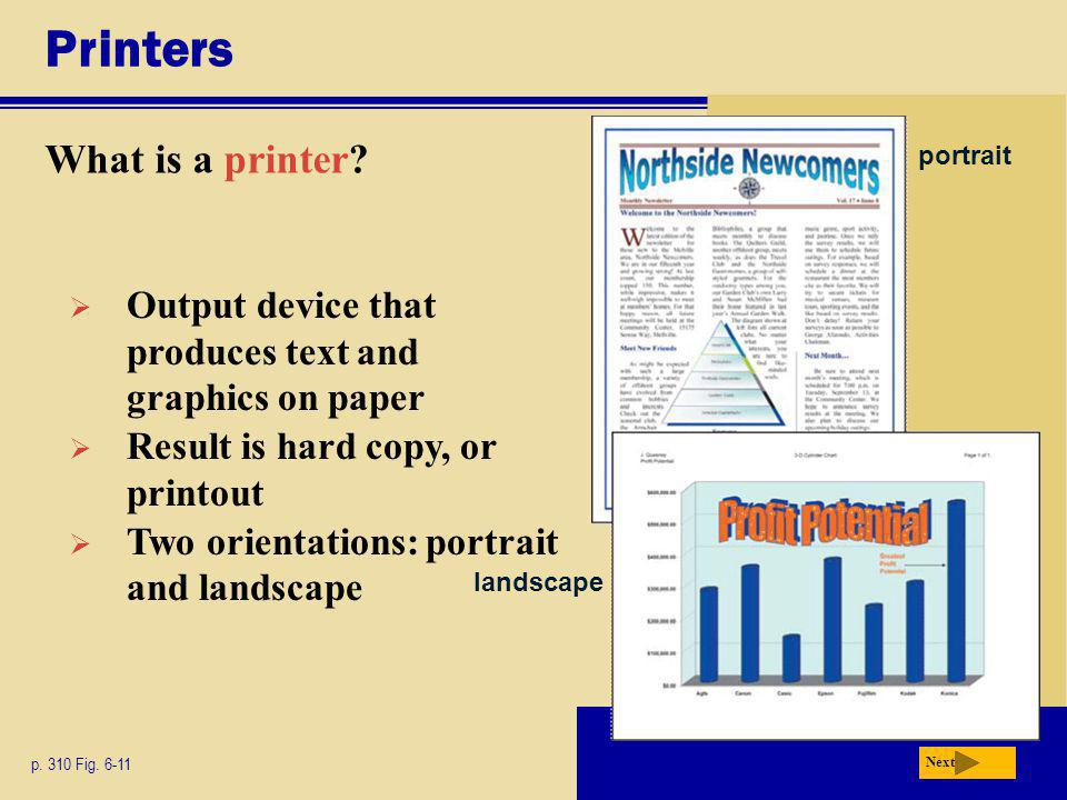 Printers What is a printer