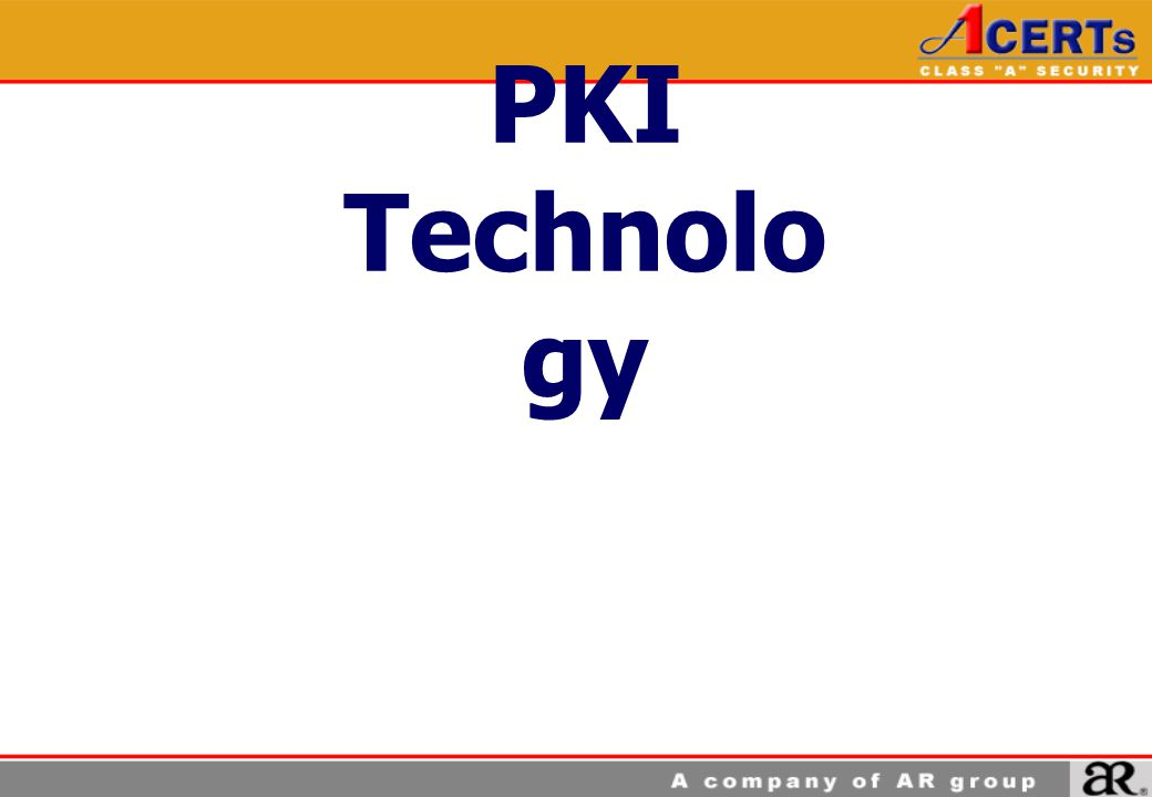 PKI Technology