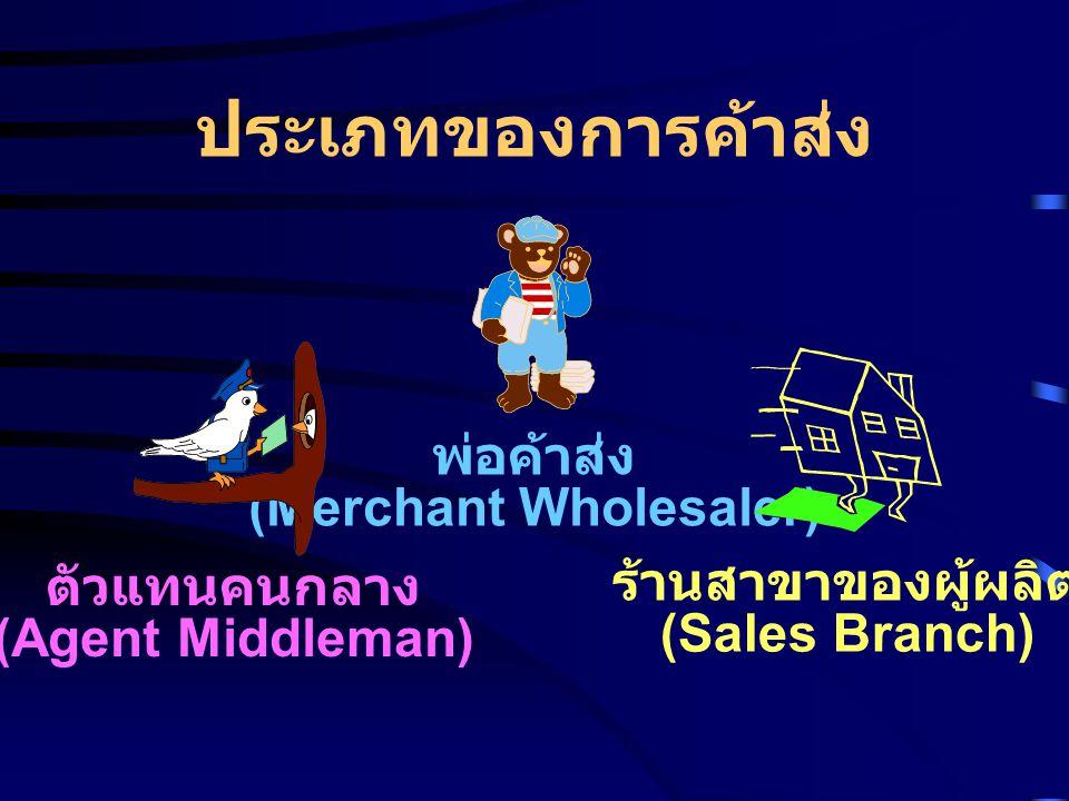(Merchant Wholesaler)