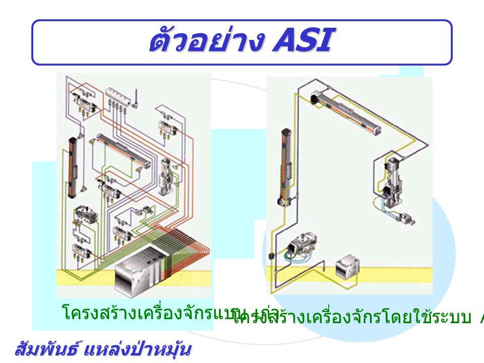 ตัวอย่าง ASI โครงสร้างเครื่องจักรแบบ เก่า