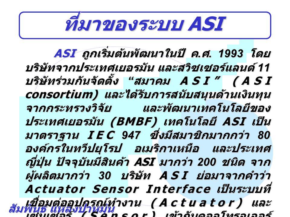 ที่มาของระบบ ASI