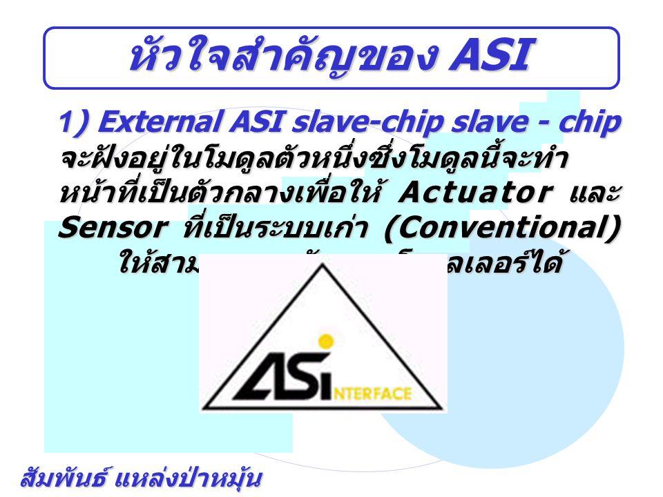 หัวใจสำคัญของ ASI