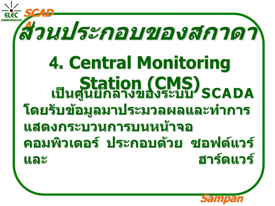 4. Central Monitoring Station (CMS)