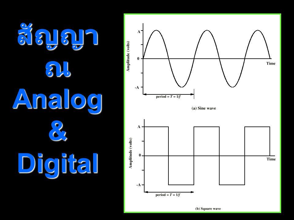 สัญญาณ Analog & Digital