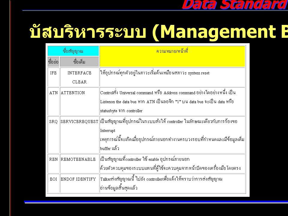 บัสบริหารระบบ (Management Bus)