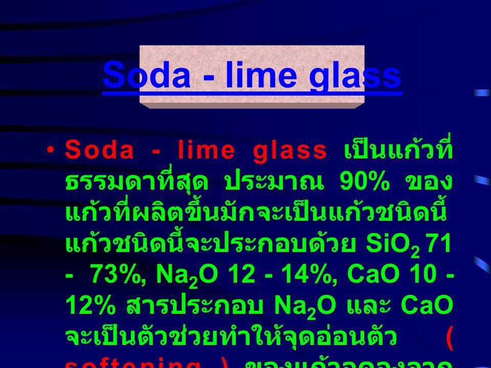 Soda - lime glass