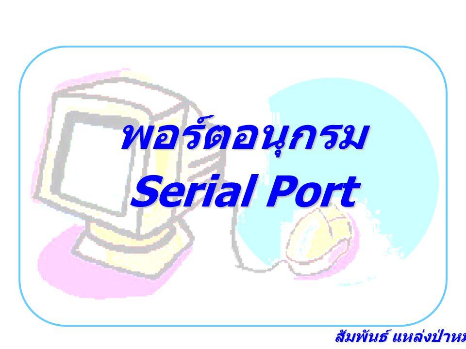 พอร์ตอนุกรม Serial Port
