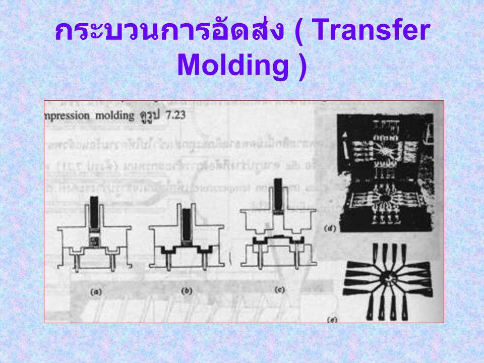 กระบวนการอัดส่ง ( Transfer Molding )