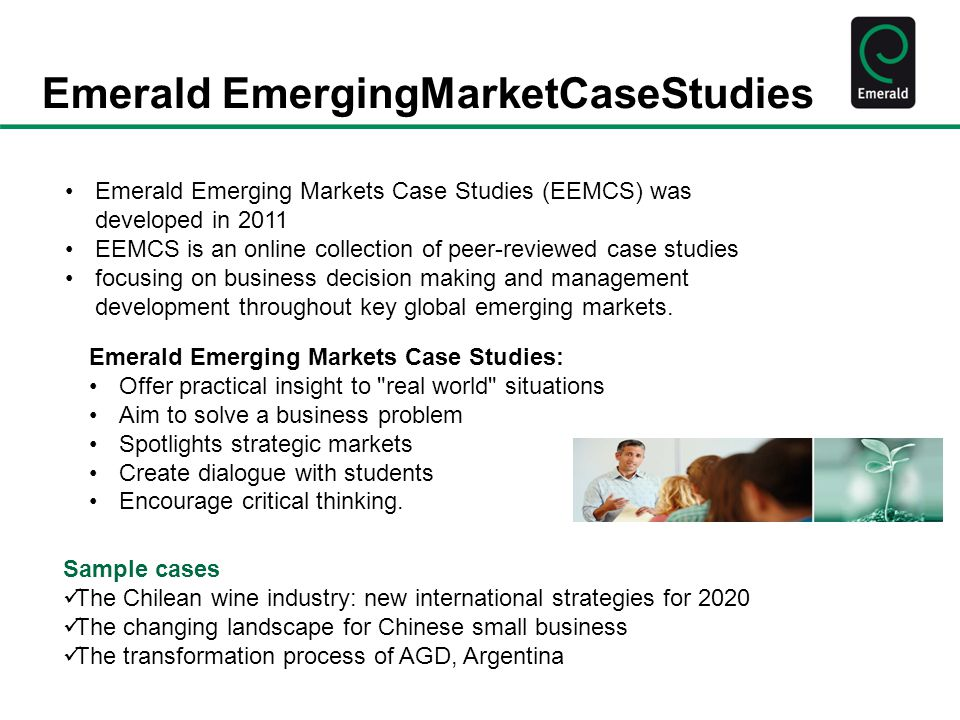 Emerald EmergingMarketCaseStudies